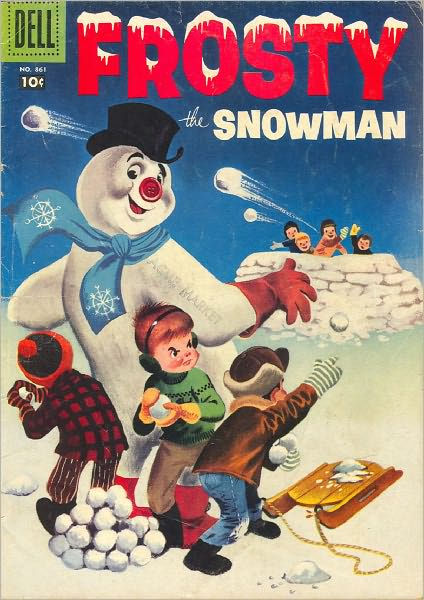 Frosty The Snowman Childrens Comic Book By Lou Diamond