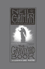 Image result for the graveyard book cover