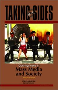 Clashing Views in Mass Media and Society by Alison Alexander  Jarice     Clashing Views in Mass Media and Society