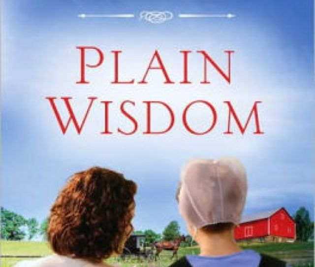 Plain Wisdom An Invitation Into An Amish Home And The Hearts Of Two Women