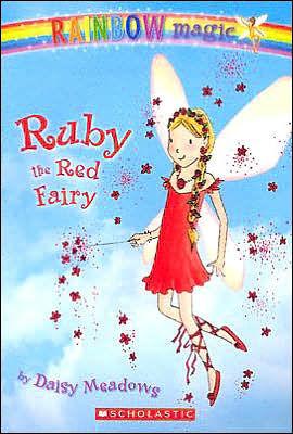 Ruby The Red Fairy Rainbow Magic Series 1 By Daisy