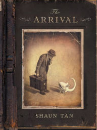book cover for The Arrival