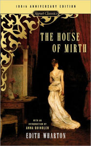 book cover for The House of Mirth