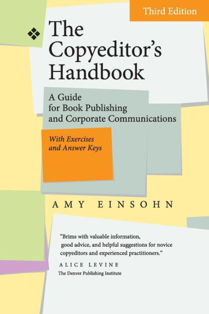 Image result for the copy editor's handbook edition 3