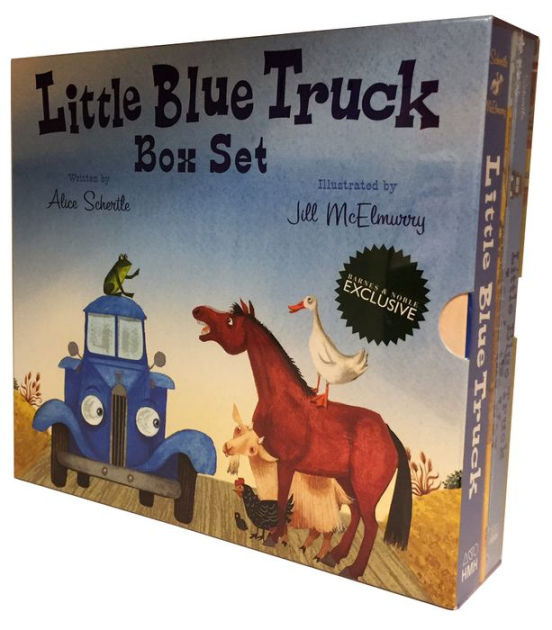 Little Blue Truck Box Set BampN Exclusive By Alice