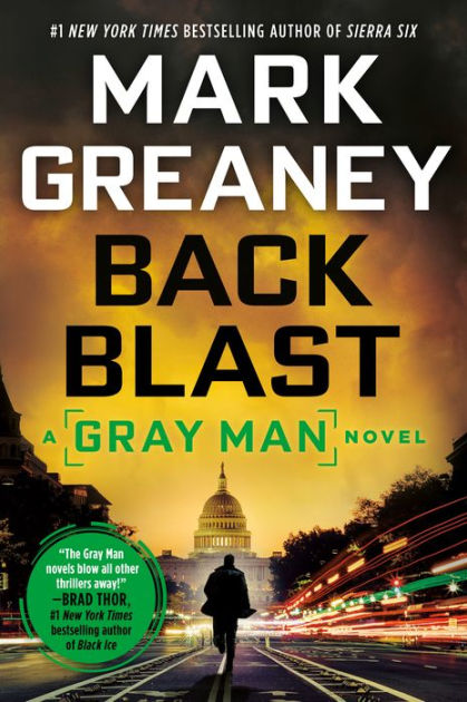 Back Blast Gray Man Series 5 By Mark Greaney Hardcover