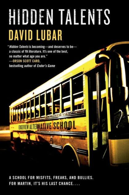 Hidden Talents By David Lubar Paperback Barnes Amp Noble