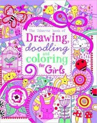 drawing doodling and coloring book girls by lucy bowman
