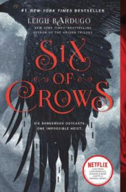 Image result for six of crows book cover