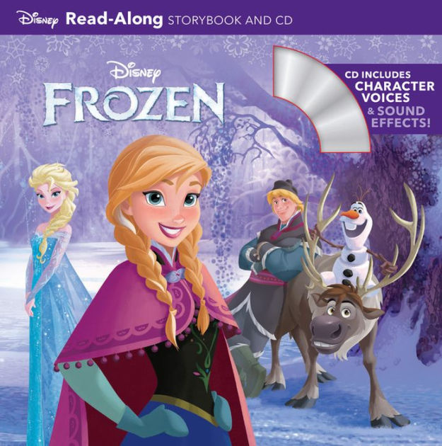 Frozen Read Along Storybook By Disney Book Group Disney