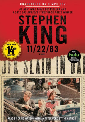 11 22 63  A Novel by Stephen King  Craig Wasson    Audiobook  MP3 on     11 22 63  A Novel