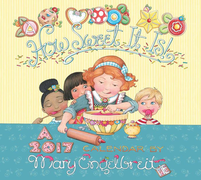 2017 Mary Engelbreit Deluxe Wall Calendar By Mary