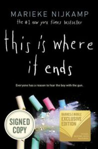 Image result for this is where it ends book cover