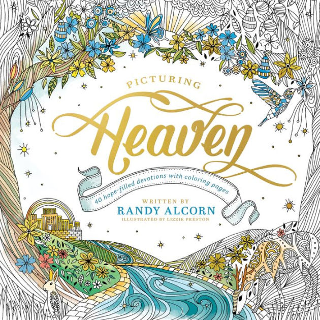 picturing heaven  hopefilled devotions  coloring