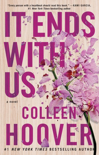 Image result for it ends with us book cover