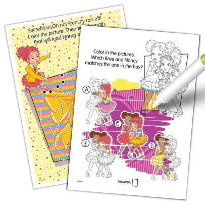 Fancy Nancy Imagine Ink Magic Ink Coloring Book By Bendon Paperback Barnes Noble