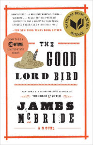 book cover for The Good Lord Bird