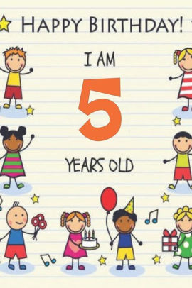 Happy Birthday Im 5 Years Old By Mohamed 2020 Paperback Barnes Noble
