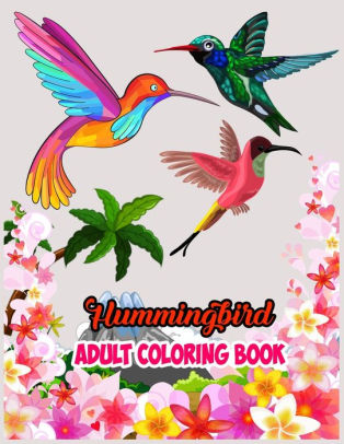 Hummingbird Adult Coloring Book An Adult Coloring Book Featuring Charming Hummingbirds Beautiful Flowers And Nature Patterns For Stress Relief And Relaxation Hummingbird Coloring Books For Adults By Blue Sky Publishing