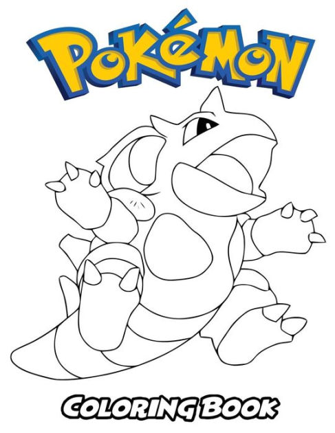 Pokemon Coloring Book Coloring Book For Kids And Adults Activity Book With Fun Easy And Relaxing Coloring Pages By Alexa Ivazewa Paperback Barnes Noble