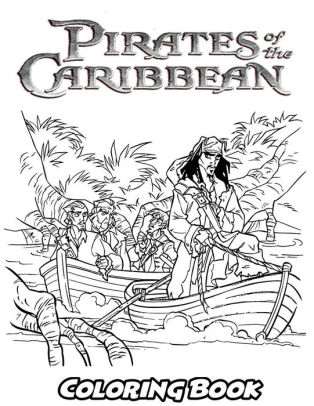 pirates of the caribbean coloring pages # 16