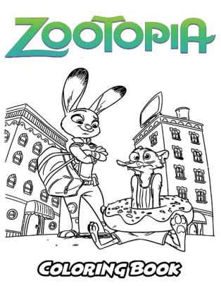 Zootopia Coloring Book Coloring Book For Kids And Adults Activity Book With Fun Easy And Relaxing Coloring Pages By Alexa Ivazewa Paperback Barnes Noble
