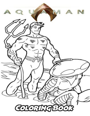 aquaman coloring pages # 14