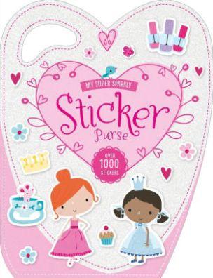My Super Sparkly Sticker Purse