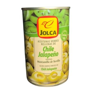 aceitunas chile jalapeño