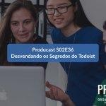Desvendando os segredos do Todoist   Producast S02E36
