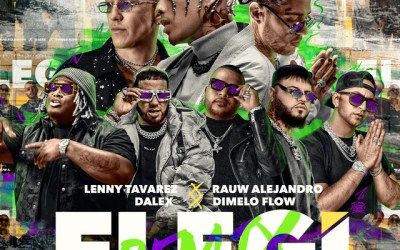 Rauw Alejandro Ft. Dalex, Lenny Tavárez, Farruko, Anuel AA, Sech, Dímelo Flow, Justin Quiles – Elegi (Remix)