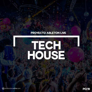 Proyecto Ableton Live tech house