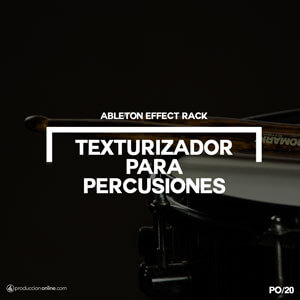 ableton effect rack para percusiones