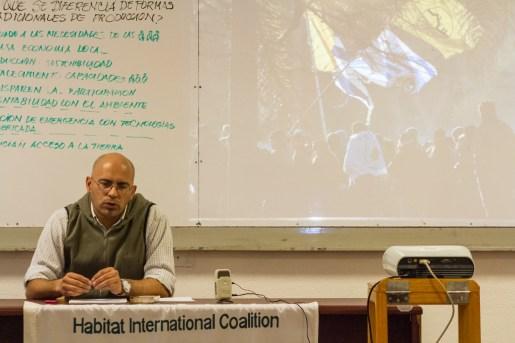 Pablo Caballero, secretario general de FUCVAM