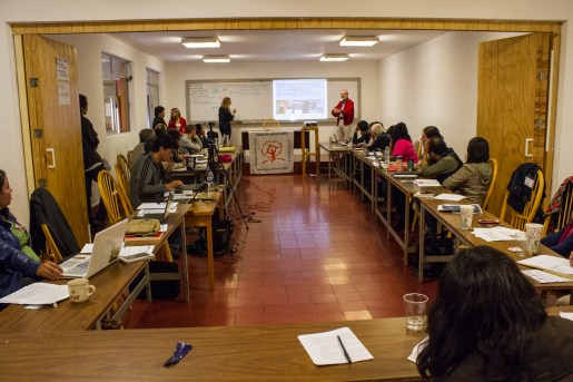 Alfonso Castillo, director de la Unión de Esfuerzos por el Campos (UDEC) presenta el caso de Cosechando Juntos lo Sembrado