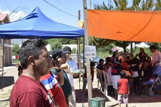 Kermesse solidaria de la Cooperativa de Vivienda por Ayuda Mutua de Jovenes, COVIJO. Foto: EAT-MACOVAM