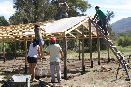 Construyendo el invernadero