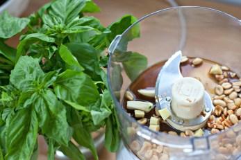 Produce on Parade: Fresh Thai Pesto and Purple Cabbage Spring Rolls