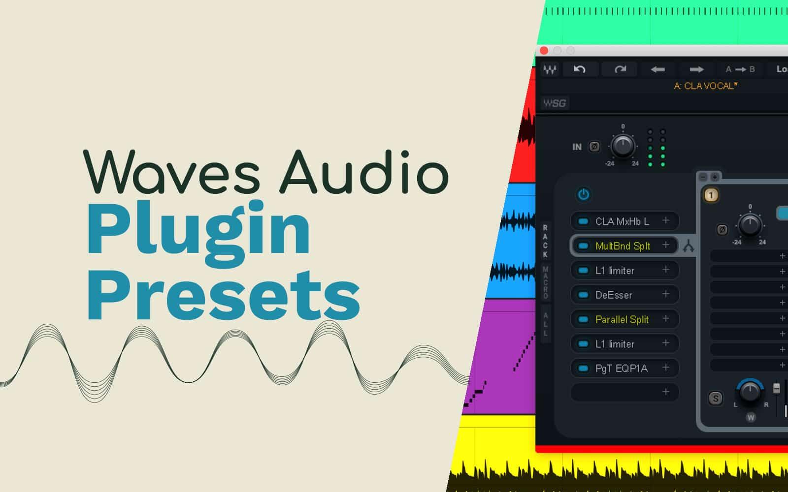 waves audio plugin presets
