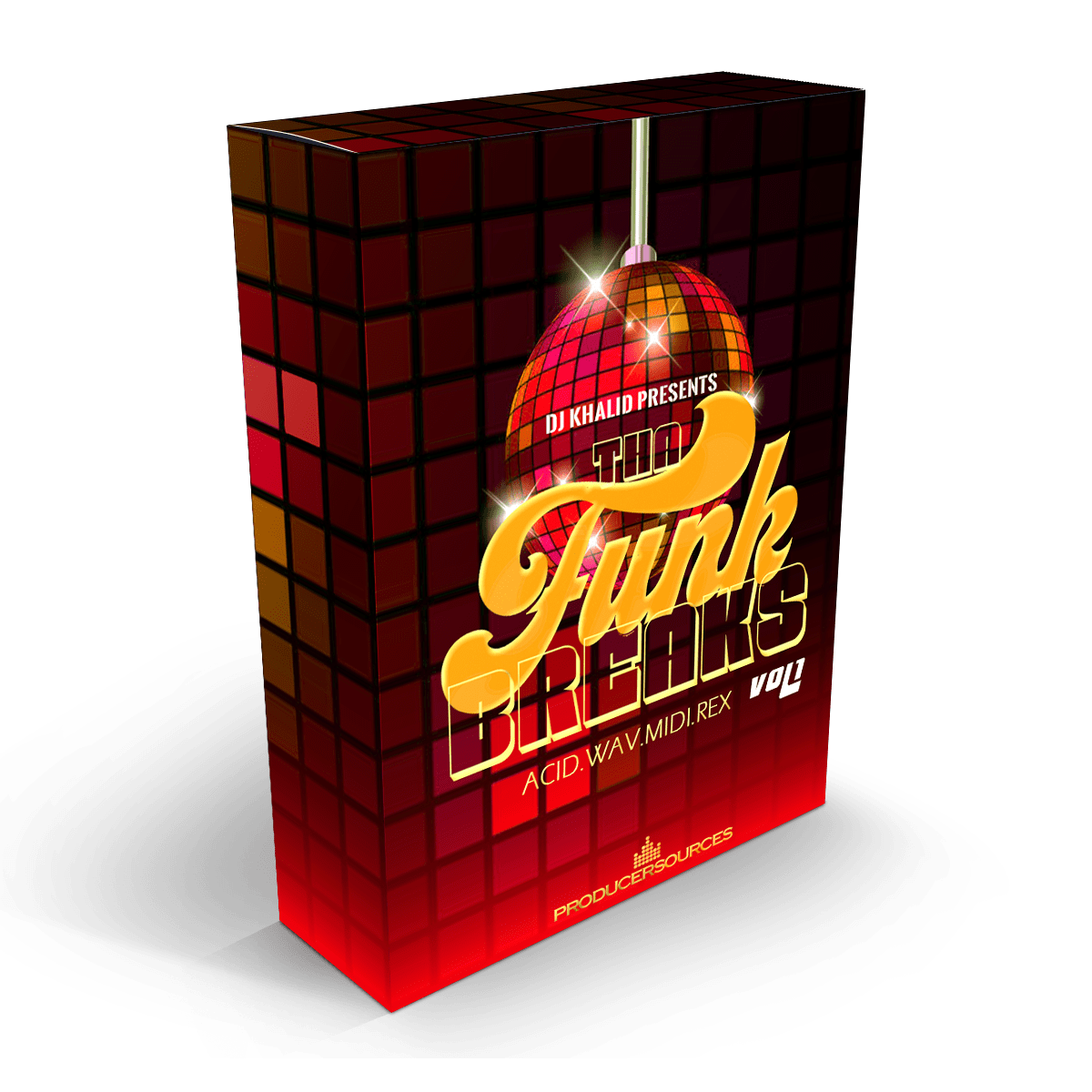 Tha Funk Breaks - Vol1 - ACID, MIDI, REC & Apple Loops Download