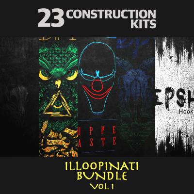 Illoopinati Bundle Vol. 1 (23 Construction Kits)