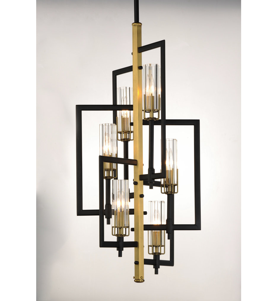maxim lighting 16116clbkab flambeau 19 25 chandelier