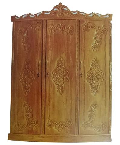 Al Modina AMFA 2 Almirah 3 Doors Furniture Shegun Wood