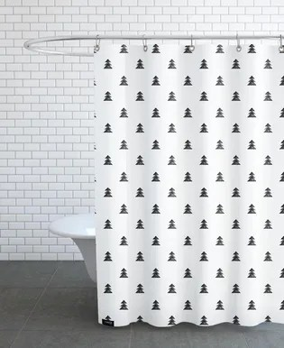 origami 6 shower curtain