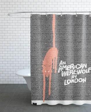 superman 1978 shower curtain
