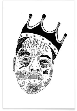 buy notorious b i g posters and art