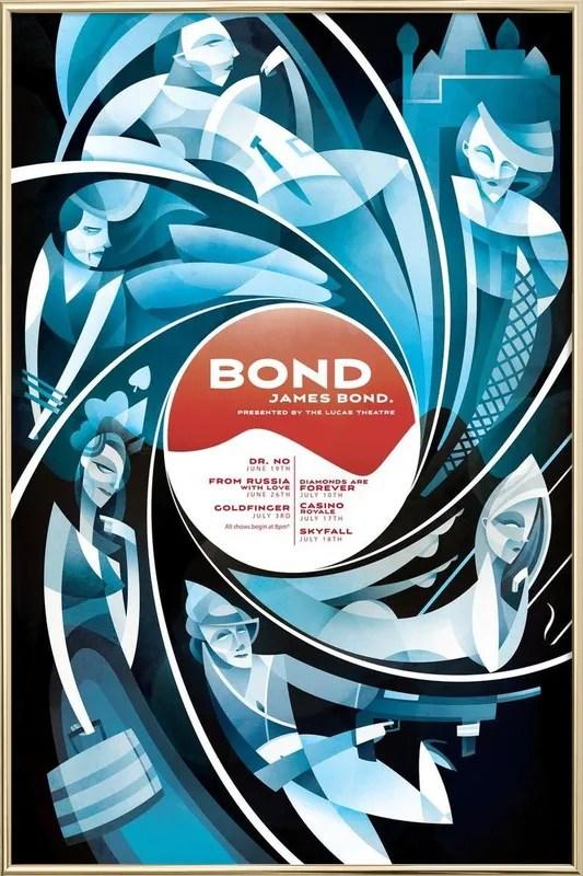 bond james bond poster
