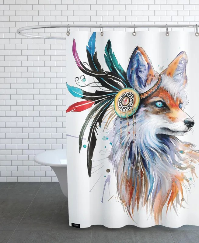 in nature shower curtain