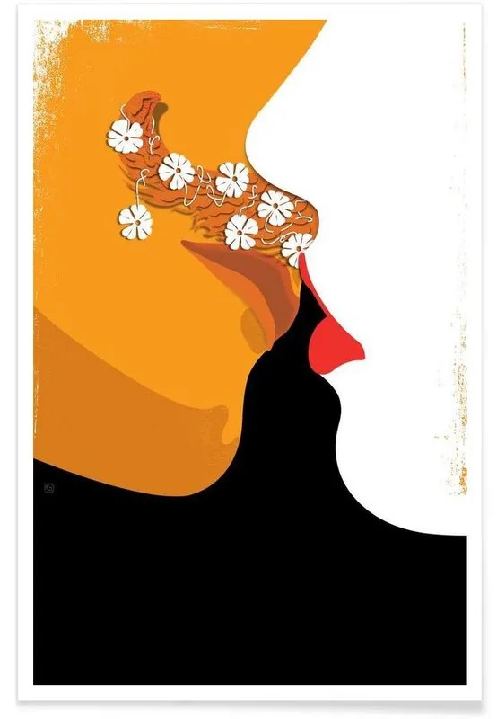 the kiss lady chatterley s lover poster