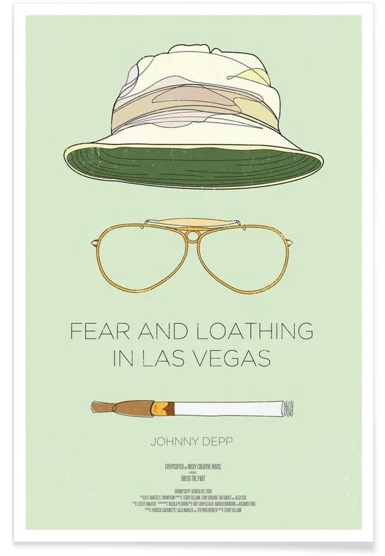 fear and loathing in las vegas film poster